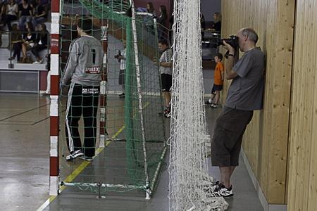 Match de handball à Bischoffsheim septembre 2011