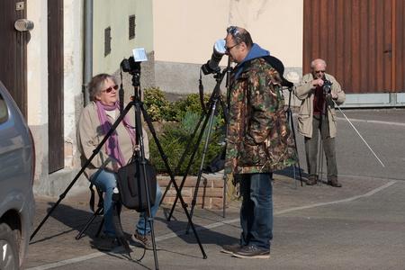 Les photographes à l'oeuvre