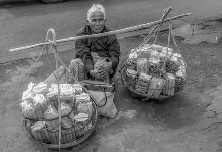 vendeur rue