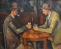 cézanne- les joueurs de cartes